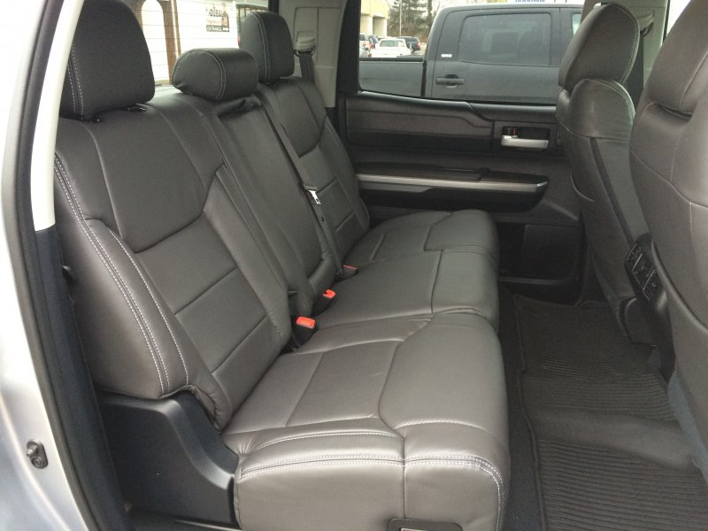 toyota tundra leather interior. Black Bedroom Furniture Sets. Home Design Ideas