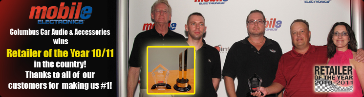 Columbus Car Audio Retailer of the Year 2010/2011