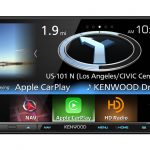Kenwood eXcelon DNX893-S. Navigation System with Bluetooth, HD Radio, & 6.95″ Display. Apple CarPlay & Android Auto Compatible.