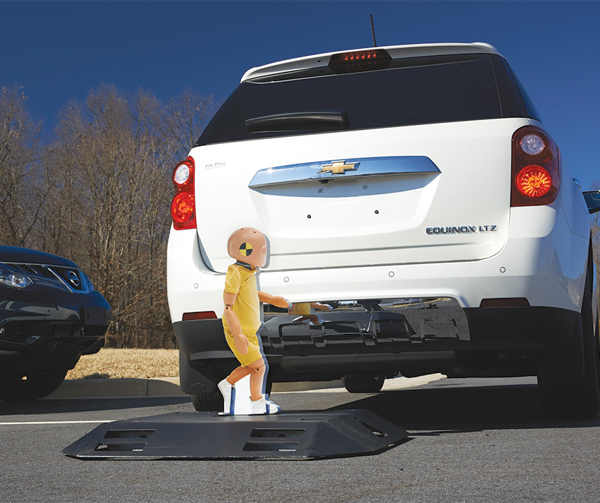 Backup Cameras Found To Be More Effective Than Sensors