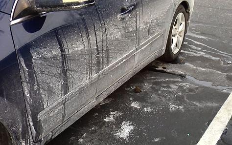 Winter Road Salt And Paint Protection Film Columbus Car Audio