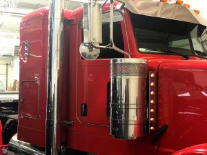 2015 Peterbilt Semi Custom Interior - Columbus Car Audio
