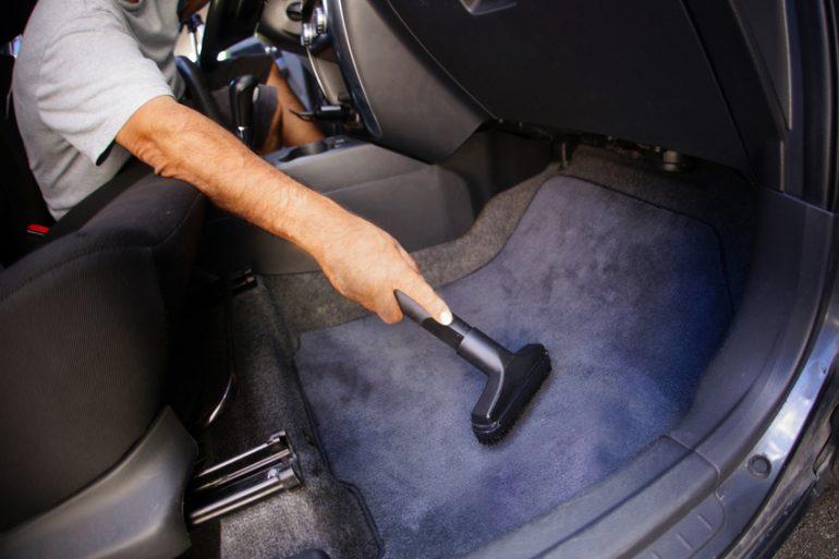 Car Detailing Interior Vacuum