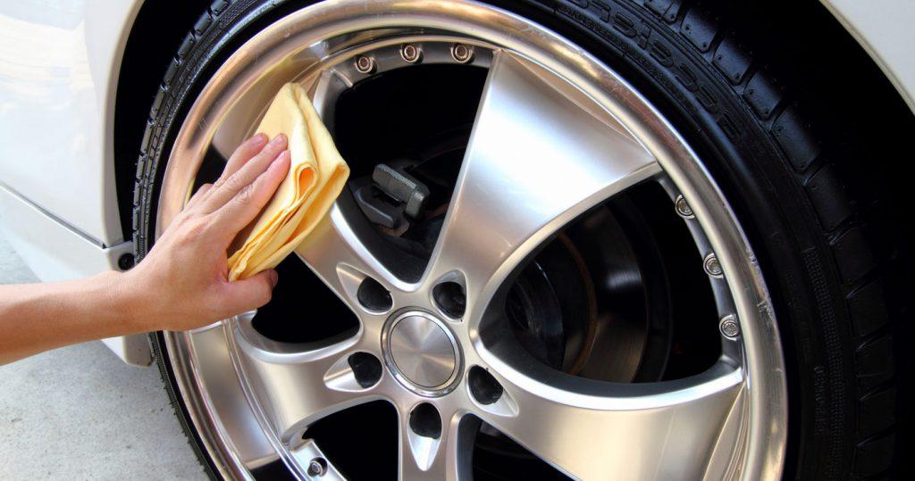 Auto Detailing Exterior Wheels
