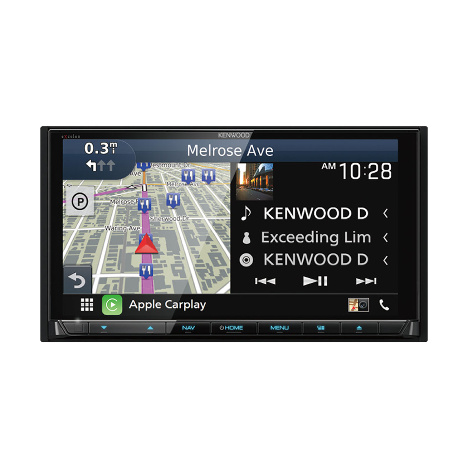 Kenwood DNX995S AV GPS Navigation Receiver with Bluetooth