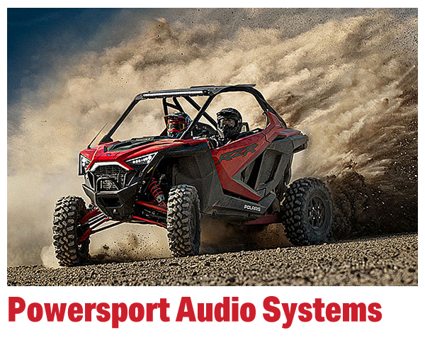 Powersports Audio Systems