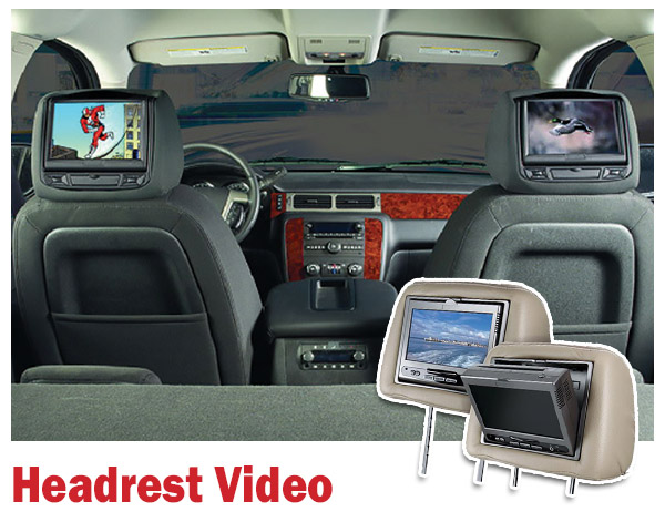 Headrest Video