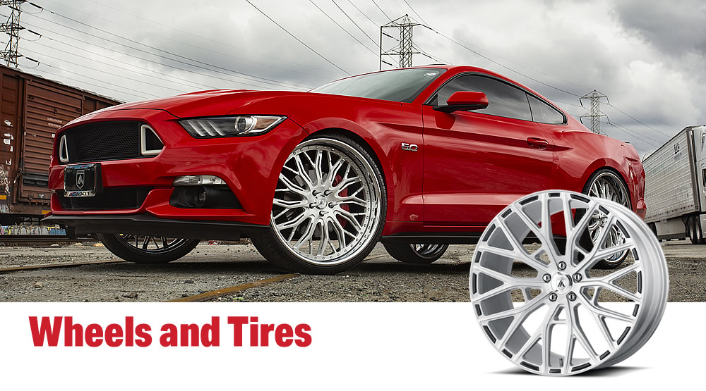 Custom Wheels and Tires
