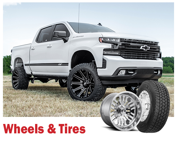 """Truck Accessories: Wheels and Tires"