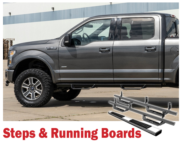 Truck Accessories: Running Boards