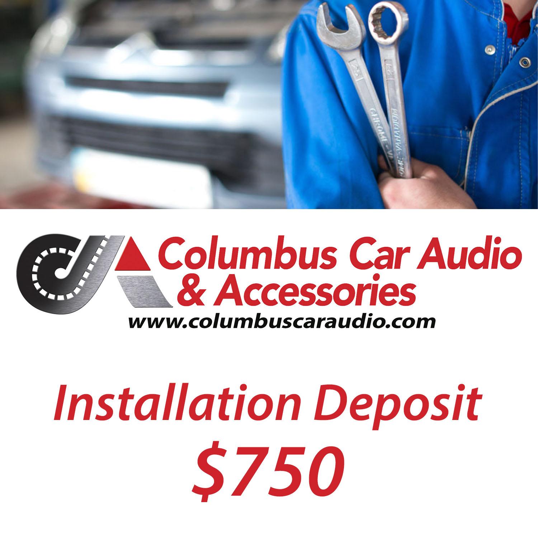 Installation Deposit  750